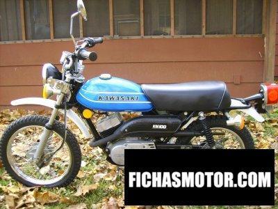 Ficha técnica Kawasaki km 100 1978