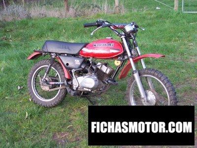 Imagen moto Kawasaki km 100 año 1979