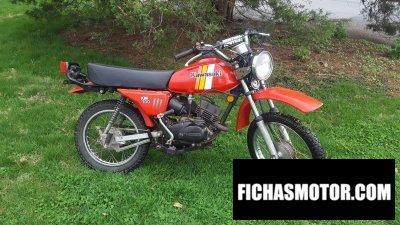 Ficha técnica Kawasaki km 100 1981