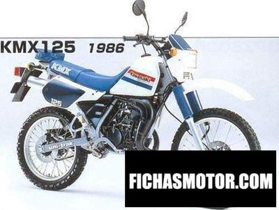 Ficha técnica Kawasaki kmx 125 1986