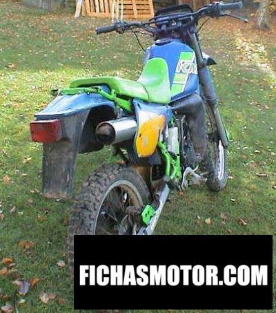 Imagen moto Kawasaki kmx 125 año 1988