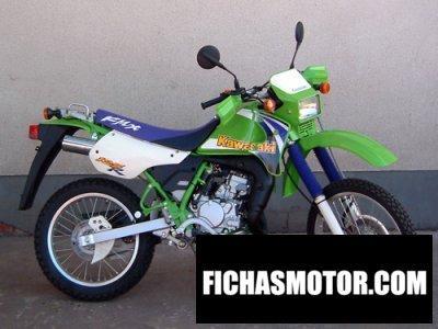 Imagen moto Kawasaki kmx 125 año 1997