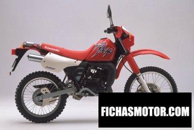 Ficha técnica Kawasaki kmx 125 1998
