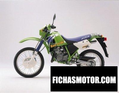 Ficha técnica Kawasaki kmx 125 1999