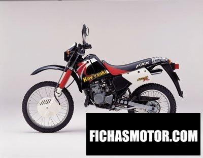 Imagen moto Kawasaki kmx 125 año 2001