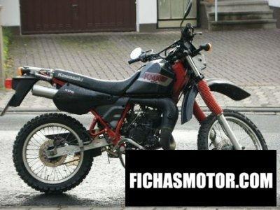 Imagen moto Kawasaki kmx 200 año 1988