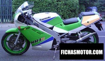 Imagen moto Kawasaki kr1-s año 1992