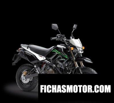 Imagen moto Kawasaki ksr 110 año 2017