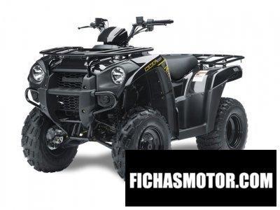 Imagen moto Kawasaki kvf300 año 2014