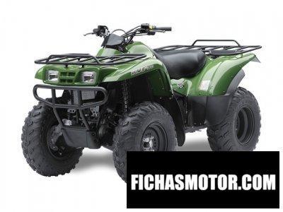 Imagen moto Kawasaki kvf360 4x4 año 2014