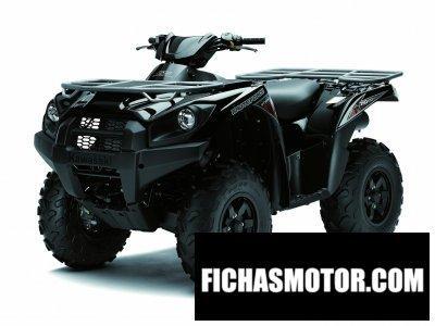 Ficha técnica Kawasaki kvf750 4x4 2012
