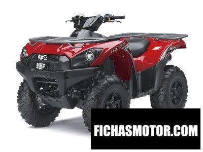 Ficha técnica Kawasaki kvf750 4x4 eps 2014