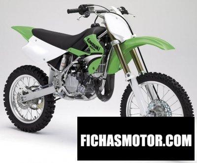 Imagen moto Kawasaki kx 100 año 2005