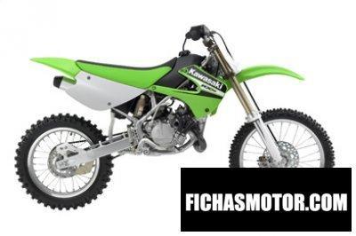 Imagen moto Kawasaki kx 100 año 2006