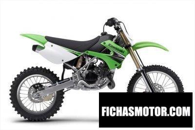 Ficha técnica Kawasaki kx 100 2010