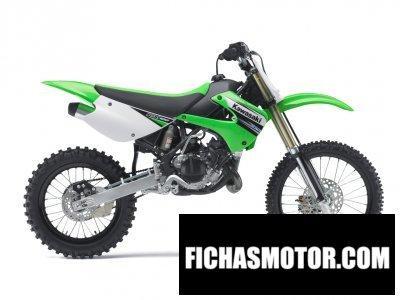 Ficha técnica Kawasaki kx 100 2011