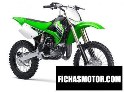 Imagen moto Kawasaki kx 100 año 2012