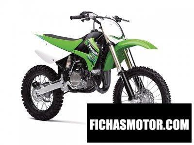 Imagen moto Kawasaki kx 100 año 2013
