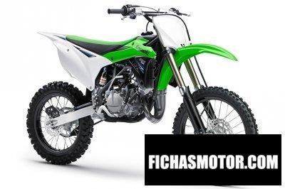 Ficha técnica Kawasaki kx 100 2014