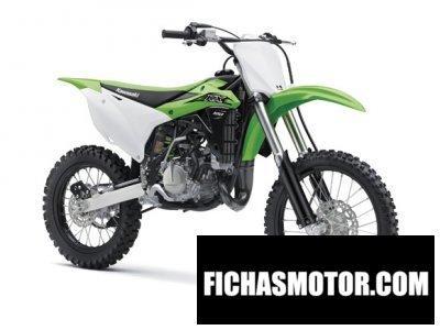 Imagen moto Kawasaki kx 100 año 2016