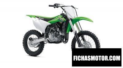 Imagen moto Kawasaki kx 100 año 2018