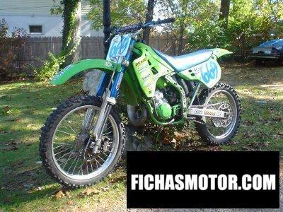 Ficha técnica Kawasaki kx 125 1990