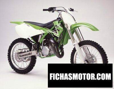 Imagen moto Kawasaki kx 125 año 2002