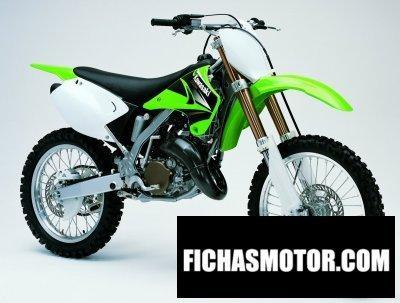 Ficha técnica Kawasaki kx 125 2004