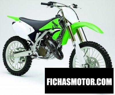 Imagen moto Kawasaki kx 125 año 2005