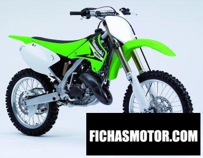 Imagen moto Kawasaki kx 125 año 2006