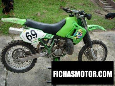 Ficha técnica Kawasaki kx 250 1990