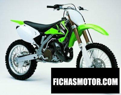 Ficha técnica Kawasaki kx 250 2004