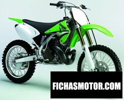 Imagen moto Kawasaki kx 250 año 2005