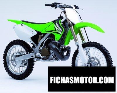 Ficha técnica Kawasaki kx 250 2006