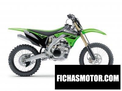 Ficha técnica Kawasaki kx 250f 2010