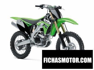 Imagen moto Kawasaki kx 250f año 2011