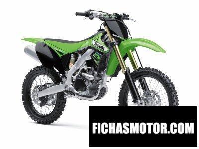 Ficha técnica Kawasaki kx 250f 2012