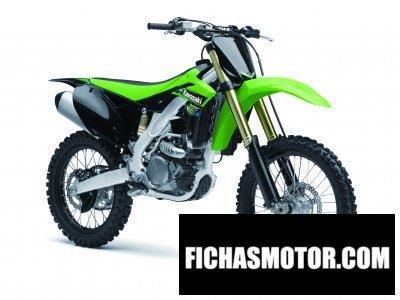 Imagen moto Kawasaki kx 250f año 2013