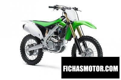Ficha técnica Kawasaki kx 250f 2014