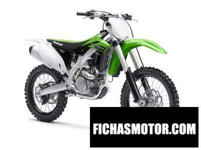 Imagen moto Kawasaki kx 250f año 2015