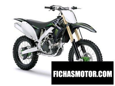 Ficha técnica Kawasaki kx 450 f monster energy 2009