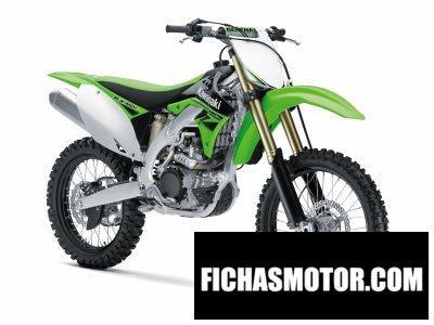 Imagen moto Kawasaki kx 450f año 2010