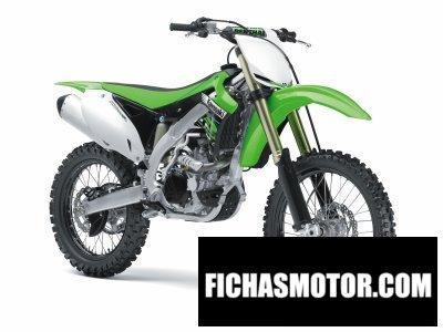 Imagen moto Kawasaki kx 450f año 2012