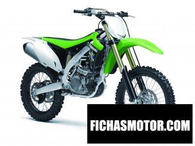 Ficha técnica Kawasaki kx 450f 2013
