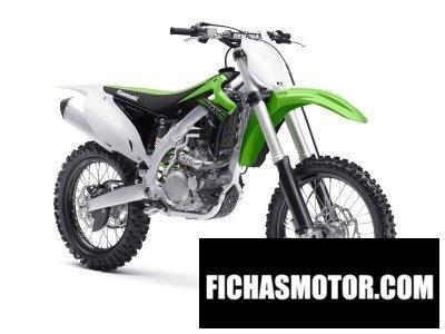 Ficha técnica Kawasaki kx 450f 2015