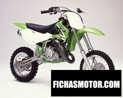 Imagen moto Kawasaki kx 65 año 2002