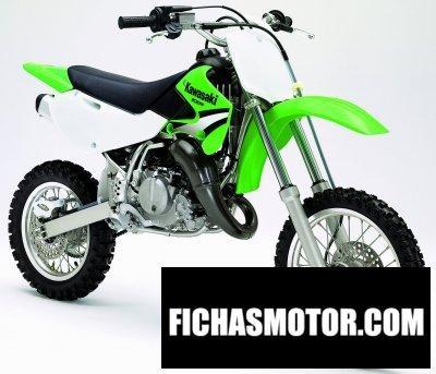 Ficha técnica Kawasaki kx 65 2005