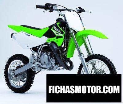 Ficha técnica Kawasaki kx 65 2006