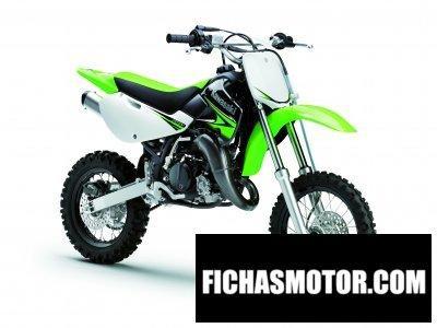 Ficha técnica Kawasaki kx 65 2010