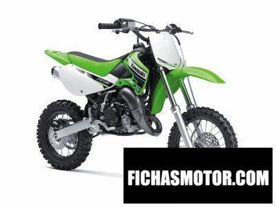 Ficha técnica Kawasaki kx 65 2012